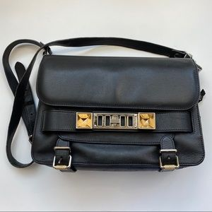 Proenza Schouler PS11 Mini Classic Black Bag